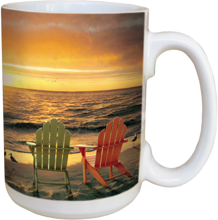 Glorious Day Sunset Coffee Cup<BR>LM 46238