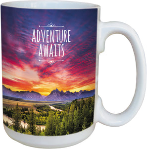 Adventure Awaits Coffee Cup<BR>LM 46293