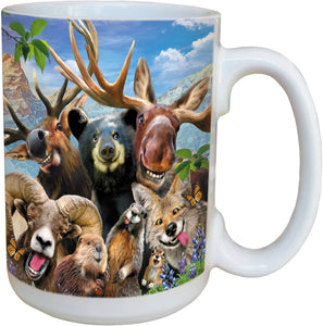 Rocky Mountain Selfie Coffee Cup<BR>LM 46909