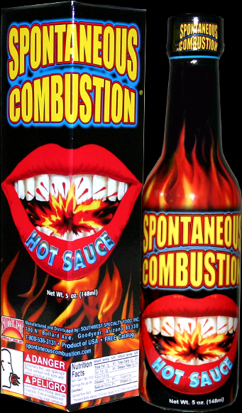 Spontaneous Combustion<br>Hot Sauce