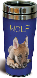 Baby Wolf Stainless Steel Travel Mug<BR> SG 25794