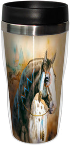 Spirit Horse Stainless Steel Travel Mug<BR>SG 78288