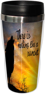 Nothing Like A Sunset Stainless Steel Travel Mug<BR>SG 78315