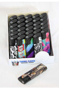 Turbo flame refillable lighter PCM857