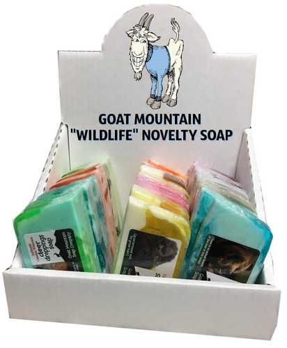 WILDLIFE NOVELTY SOAP<BR>GIFT SET