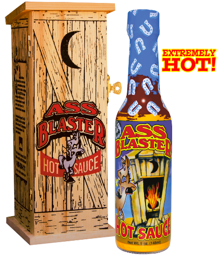 Ass Blaster Hot Sauce w/Outhouse<BR>AB 003