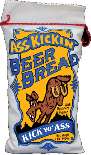 Ass Kickin Beer Bread<BR> AK 728