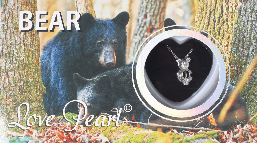 Bear Love Pearl Necklace