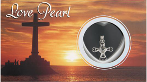 Cross Love<br>Pearl Necklace