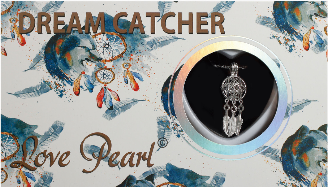 Dreamcatcher Love Pearl Necklace