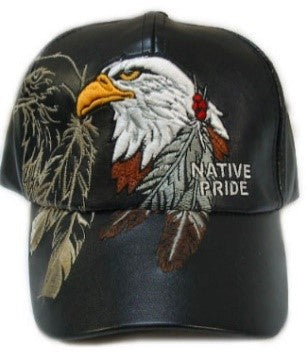 Like Leather Native Pride Caps<br>Sold in lots of 6