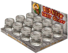 REDNECK<BR>MASON JAR SHOT GLASSES