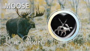 Moose Love Pearl Necklace