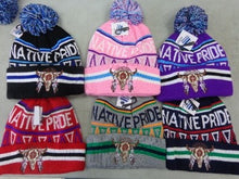Native Pride Pom Pom Toque<br>Sold In Lots Of 6