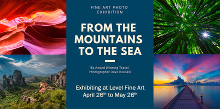 From the Mountains to the Sea by The Planet D at Level Fine Art
