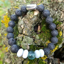 Load image into Gallery viewer, Serenity: Davails' Empowerment Bracelet with Lava - Davails