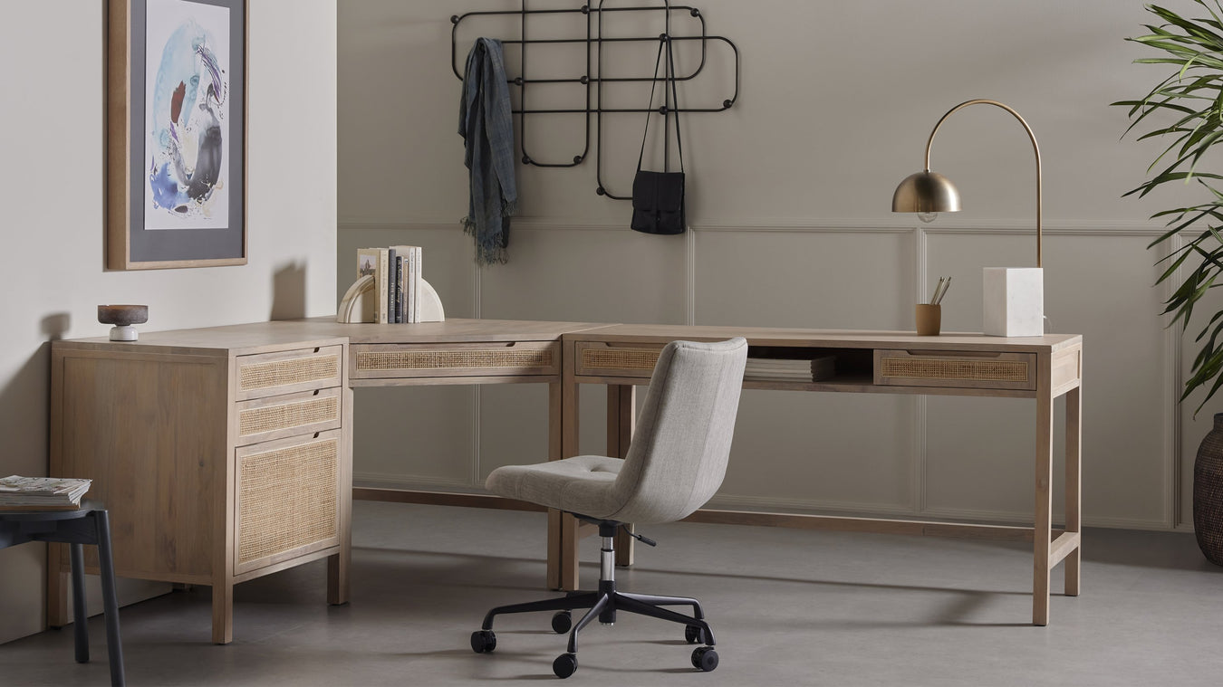 mid-century modern and contemporary office desks and work ...