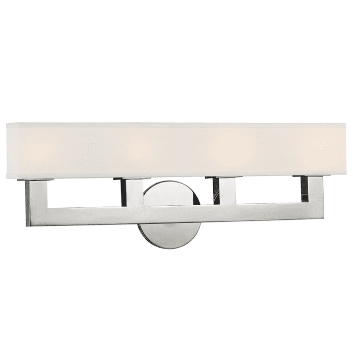 Clarke 4 Light Wall Sconce Polished Nickel