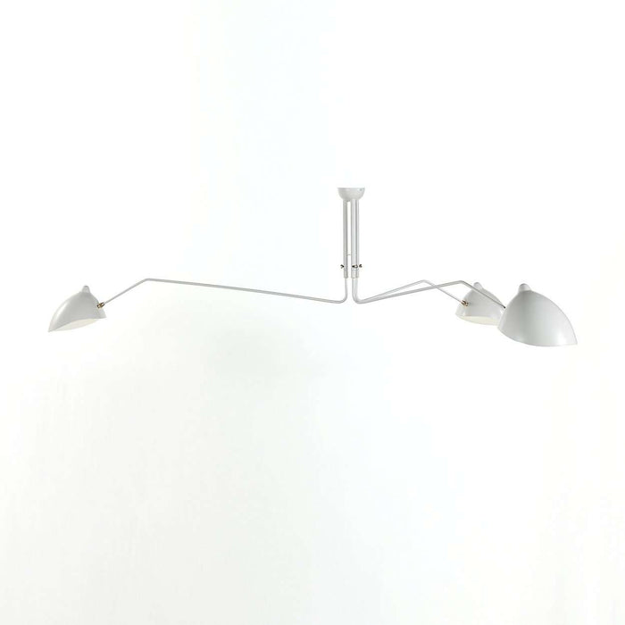Three-Arm MCL-R3 Ceiling Lamp Serge Mouille LN6103WHT