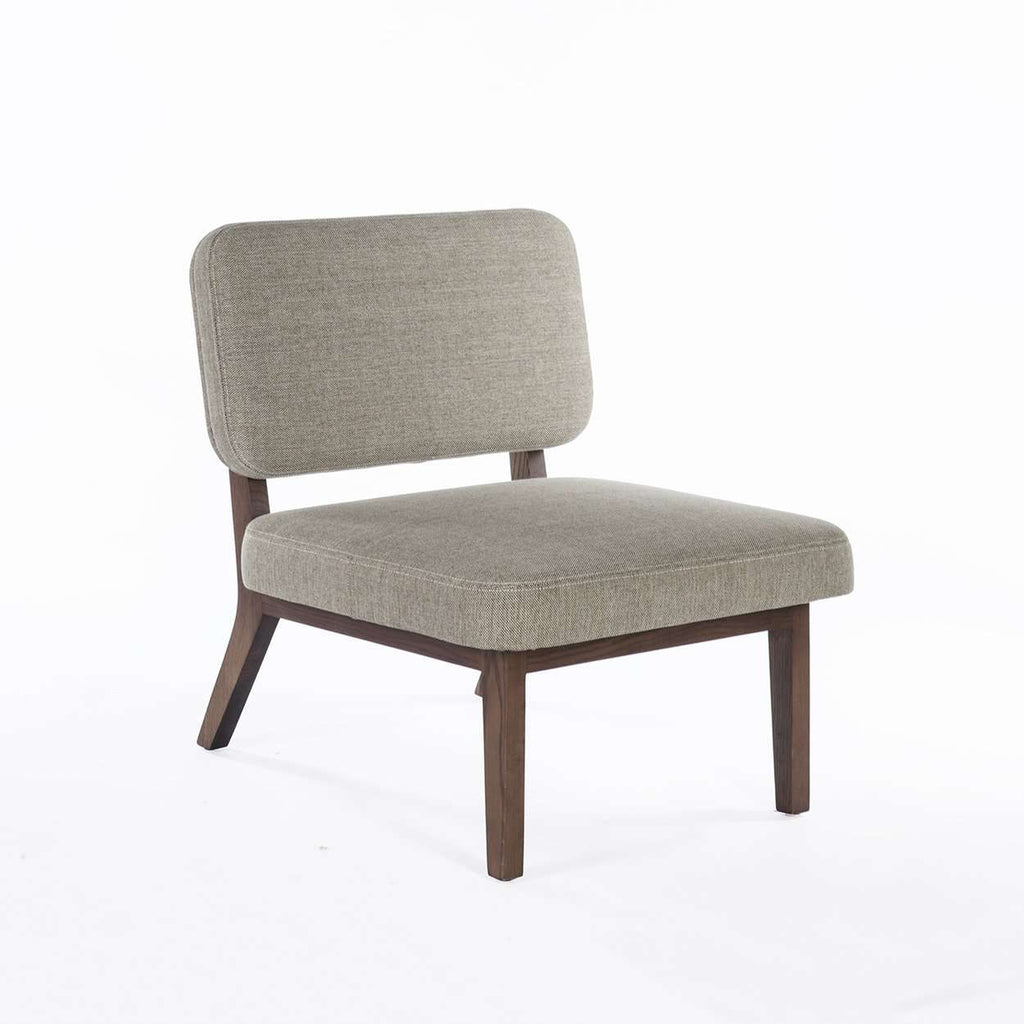 Modern Salim Lounge Chair - Grey
