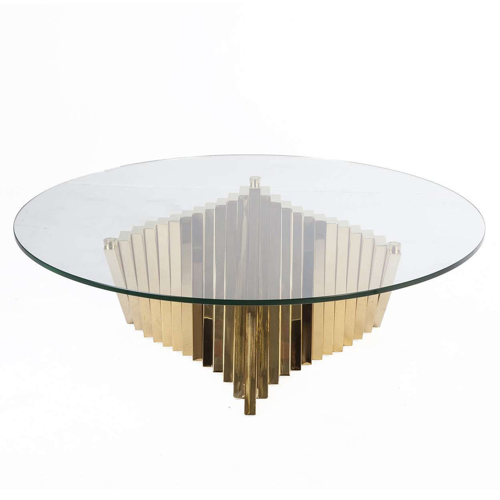 Mid-Century Modern Tertrud Coffee table - Gold
