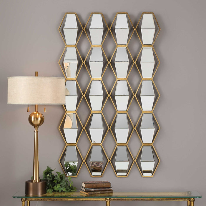 Jillian Mirrored Wall Art