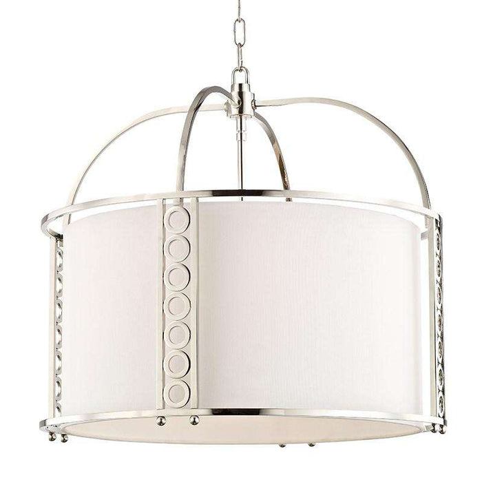 Infinity 8 Light Large Pendant Polished Nickel
