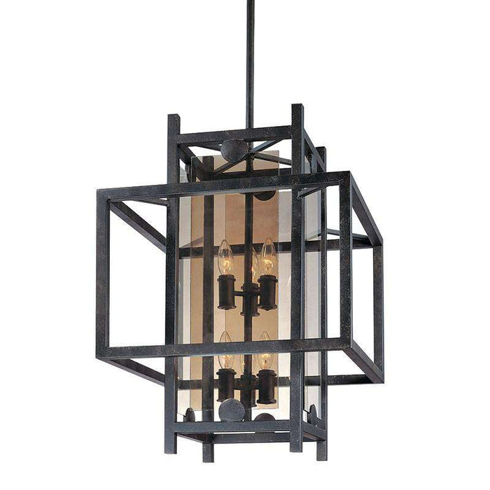 Crosby 6Lt Pendant Medium French Iron