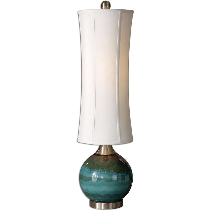 Uttermost Atherton Blue Buffet Lamp