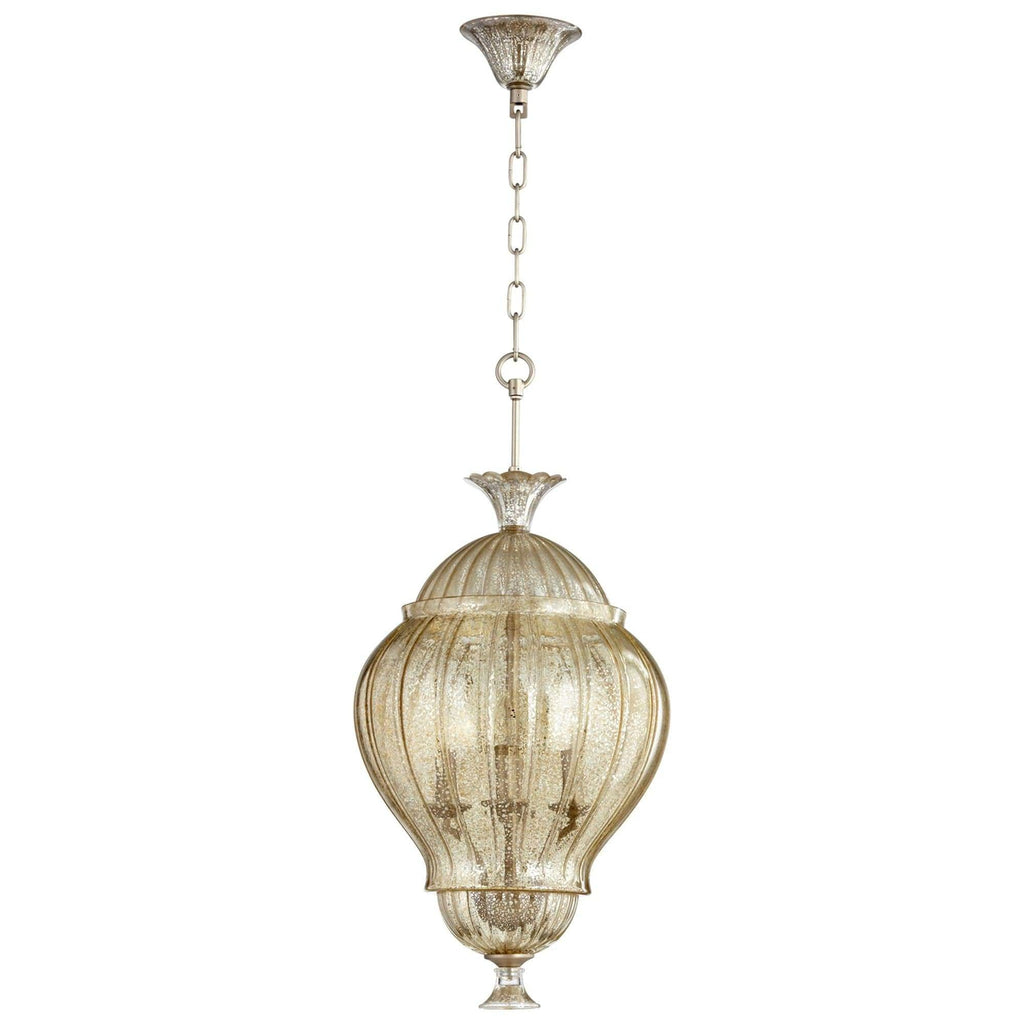Strata Four Light Pendant
