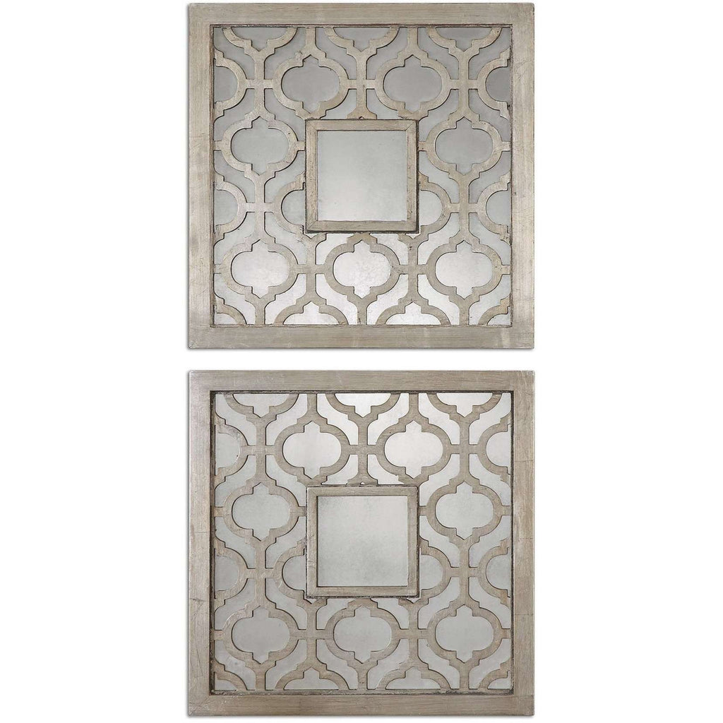 Uttermost Sorbolo Squares Decorative Mirror Set/2