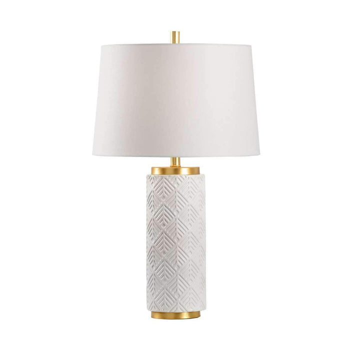 Mountain Pine Lamp - Snow