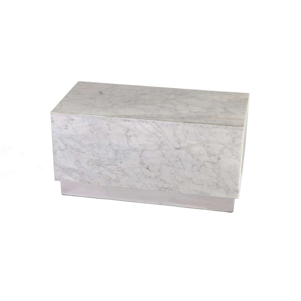 Modern Kubik Marble Coffee Table