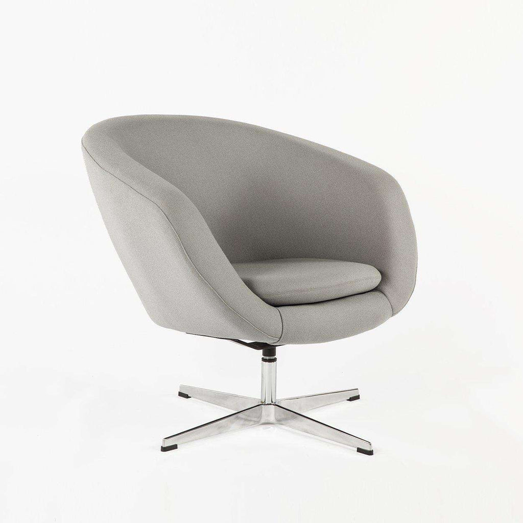 Charmant Mid Century Modern Reproduction Overman Pod Chair   Grey Inspired By Overman