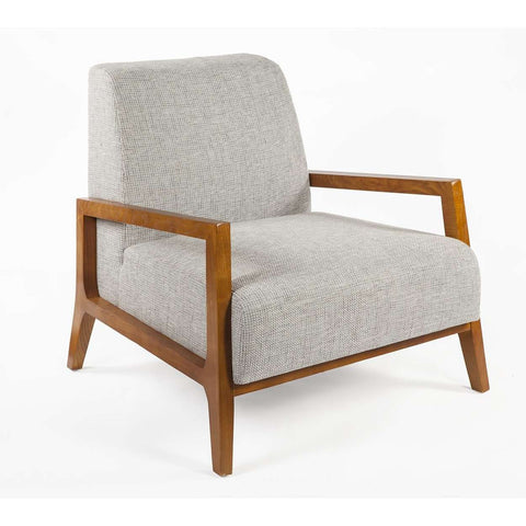 Modern Daron Lounge Chair - Grey