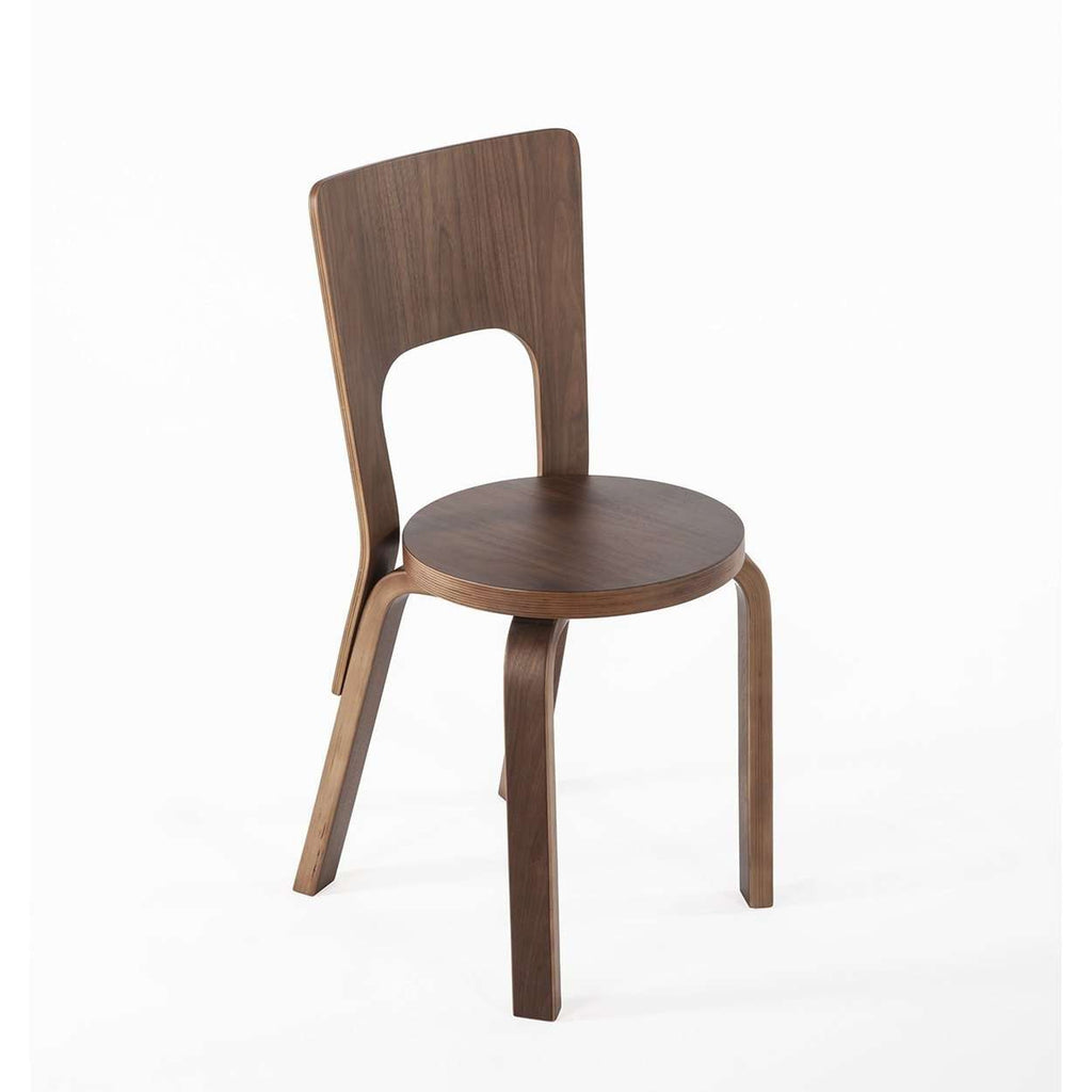 Mid Century Modern Reproduction Aalto Dining Chair 66 Inspired By Alvar  Aalto
