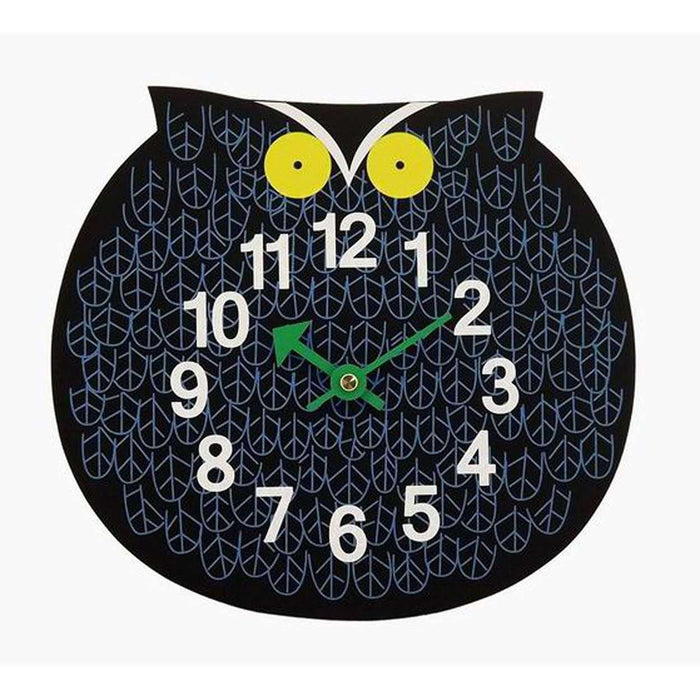 Mid-Century Modern Reproduction Omar Owl Zoo Clock Inspired by George Nelson