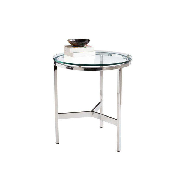 FLATO END TABLE - ROUND
