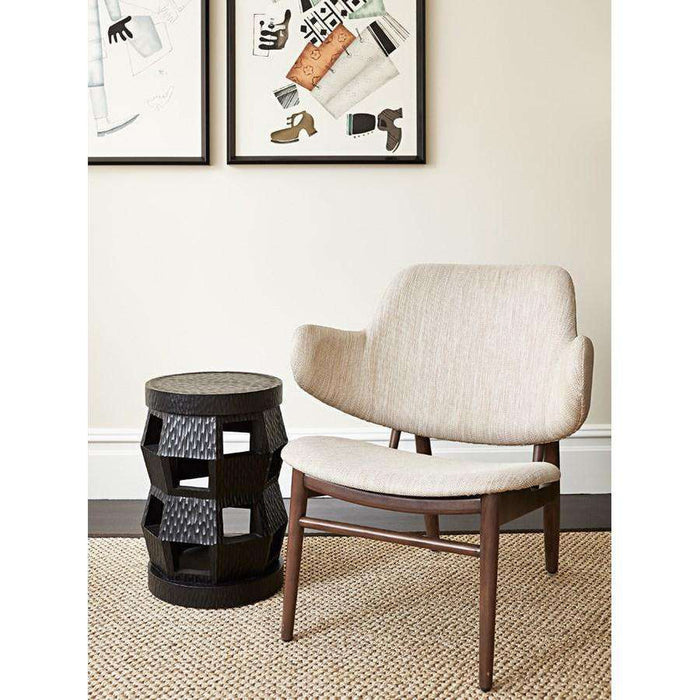 BUNGALOW 5 - ZANZIBAR STOOL/SIDE TABLE BLACK - BUNGALOW-ZAN-100-91