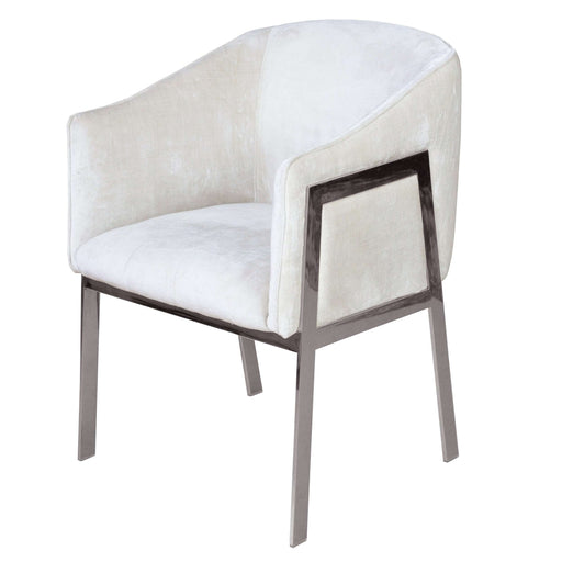 RIALTO CHAIR - BELLA WHITE FABRIC - FAS EXCLUSIVE - *PICK UP ONLY*