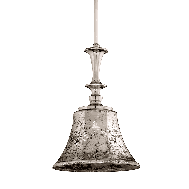 Argento 1Lt Pendant Polished Nickel