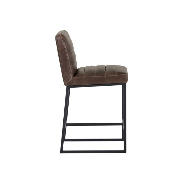 Spyros Counter Stool - Coal Black