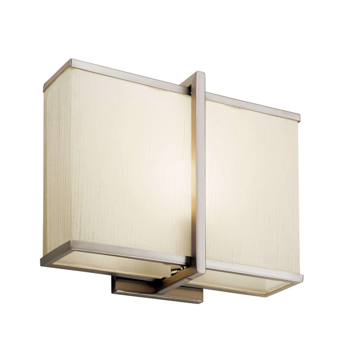 Wall Sconce LED - Satin Nickel