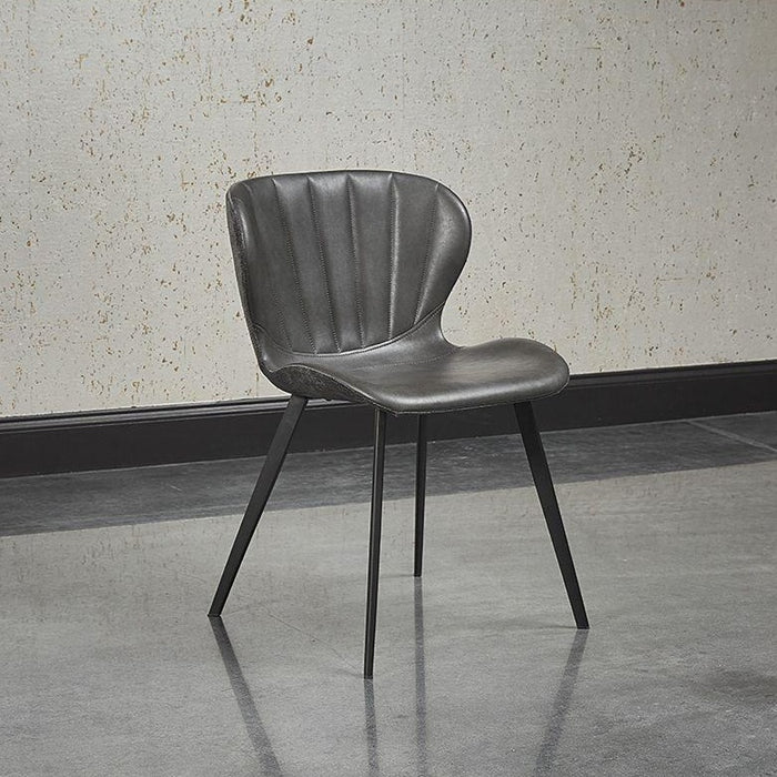 Arabella Dining Chair - Bravo Portabella / Polo Club Kohl Grey