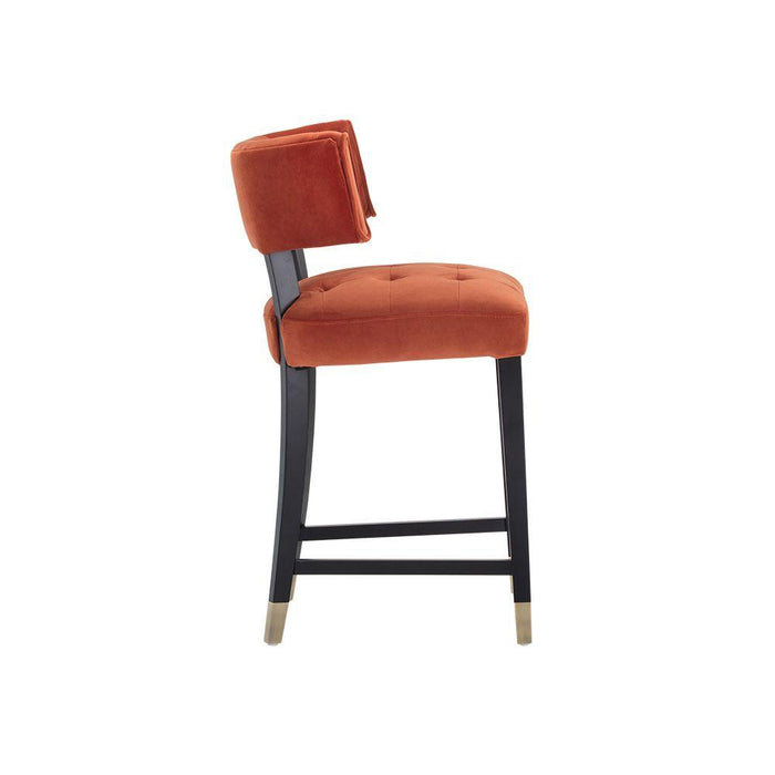 Tatum Counter Stool - Autumn Orange