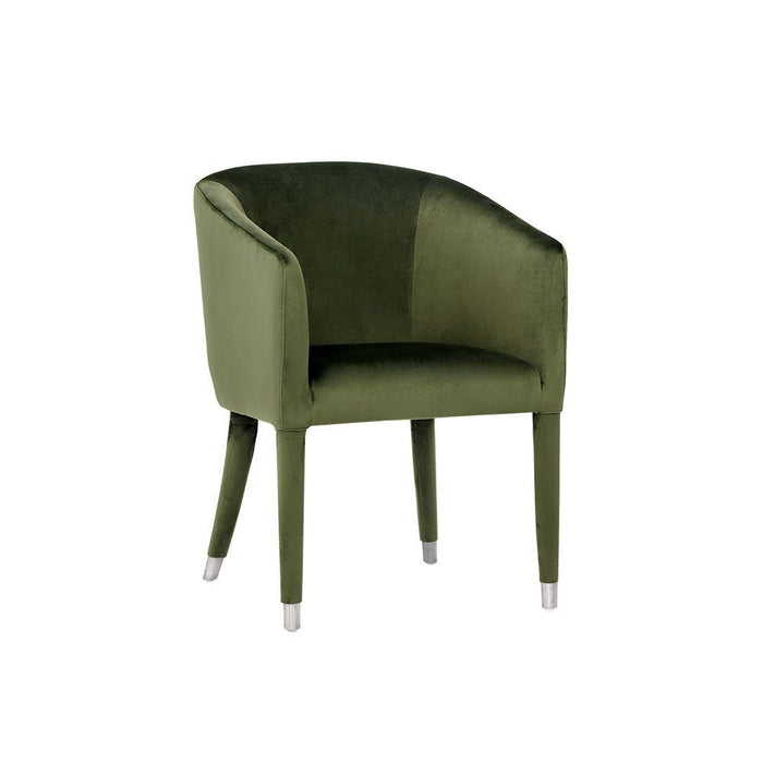 Marcus Dining  Armchair - Moss Green