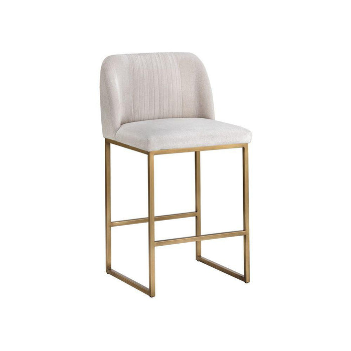 Nevin Counter Stool - Polo Club Muslin
