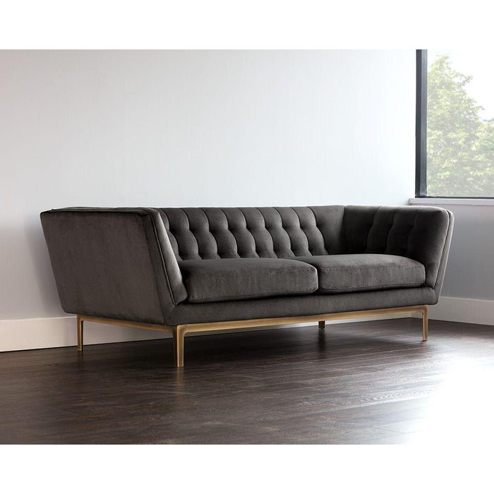 Petal Sofa - Piccolo Pebble (Formerly Pimlico Pebble)