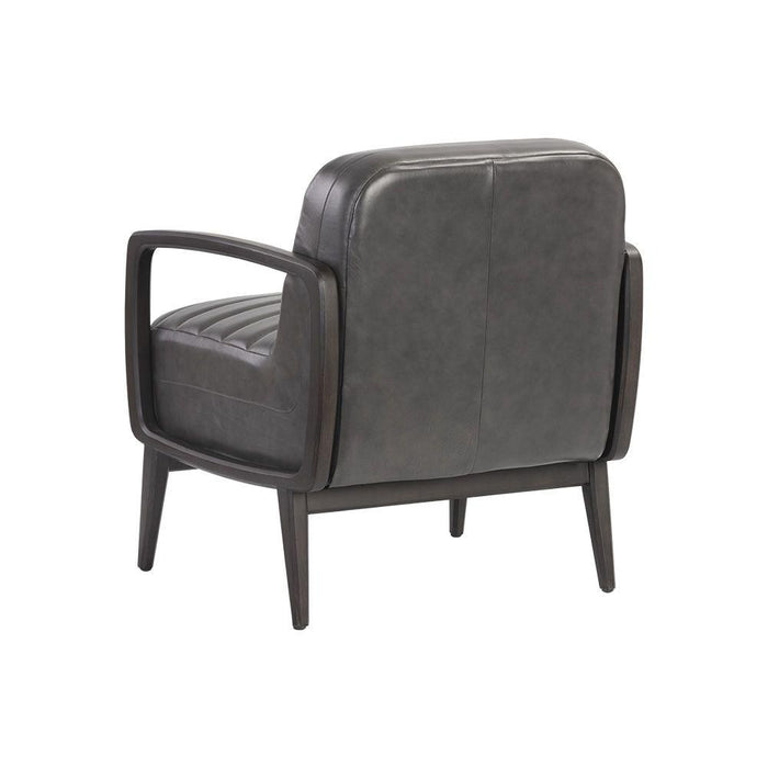 Wilfred Armchair - Brentwood Charcoal