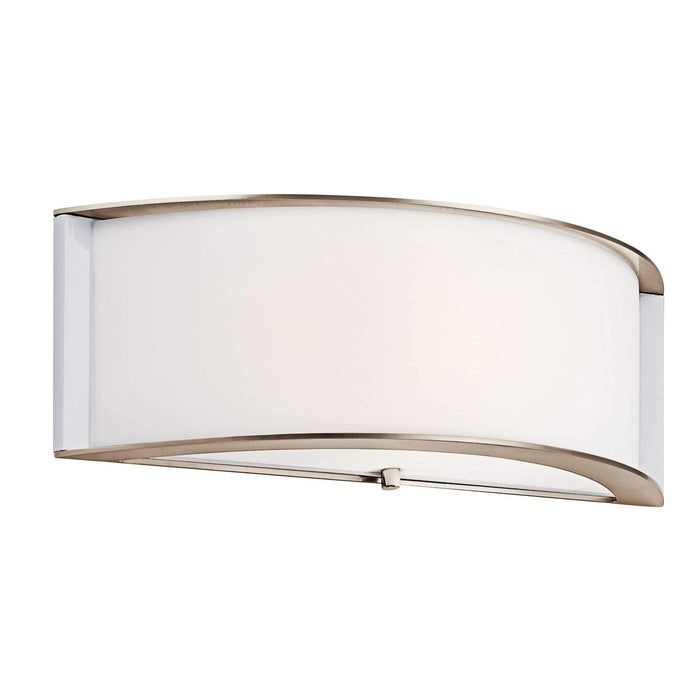 Wall Sconce LED - Polished Nickel